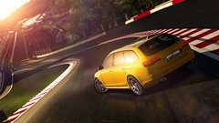 Audi RS6 Avant (nbdesignz) Tags: 6 hot sexy cars beautiful beauty car yellow digital photoshop edited sony gran audi turismo spa avant edit lightroom gt6 rs6 francorchamps polyphony ps3 playstation3 gtplanet nbdesignz