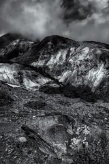 Sulphur Mountains (brianwoodkoiwa) Tags: bw mountains nature japan landscape tohoku hdr zao