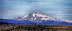 Mt Hood Oregon - Painting (Paddrick) Tags: mountain art oregon digital painting mthood paddrick paintograph