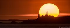 _D814744 : Saint-Mathieu (Brestitude) Tags: sunset sea mer lighthouse france brittany bretagne pointe phare couchédesoleil finistère abbaye saintmathieu iroise brestitude ©laurentnevo