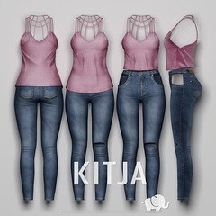 KITJA - WIP (Kustom9) (ᴋɪᴛᴊᴀ) Tags: wip maitreya slink seconlife meshbody kitja fittedmesh slinkphysique maitreyalara slinkhourglass