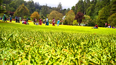 Happy People (Karthikeyan KC) Tags: park people green happy joy relaxing meadow happiness bliss ooty