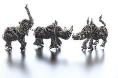 18/52 Eye for Detail (melbaczuk) Tags: africa shadow elephant animals backlit challenge 52 warthog streetvendors rhinoserous beadedanimals project52 week18theme 52weeksthe2016edition week182016 weekstartingfridayapril292016