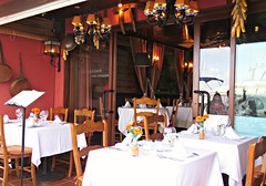 Terracotta Restaurant! ('cosmicgirl1960' NEW CANON CAMERA) Tags: travel blue brown holiday spain terracotta espana manmade costadelsol andalusia puertobanus marbella yabbadabbadoo