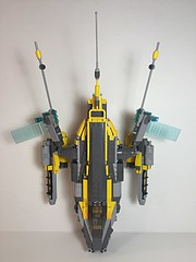 "Lego. Long Range gunship ""the Otter"" (vikingforhire) Tags: starwars lego scifi viper gunship starfighter gunboat"
