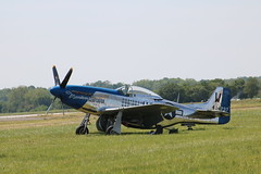 Moonbeam (xwattez) Tags: old france plane aircraft wwii meeting american mustang transports warbird avion ancien p51 amricain 2016 northamerican arien muret vhicule arodrome airexpo lherm
