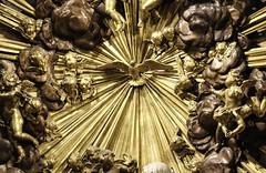 Veni Sancte Spiritus (Lawrence OP) Tags: light gold dove malta sunburst valletta holyspirit cocathedral stjohnthebaptist