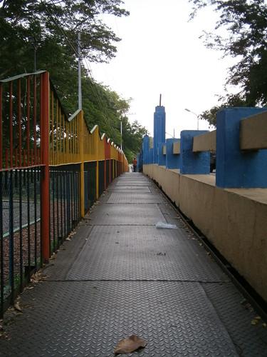 Puente colorido.