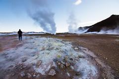 Hverarond (fantonifra) Tags: iceland geyser myvatn islanda vapori