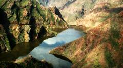 Rincones de mi Gran Canaria (Montse;-))) Tags: nature grancanaria landscape paisaje canaryislands montaas islascanarias riscos