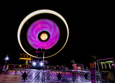 Spinning around (simonjwood photography) Tags: longexposure pink canon fun bright fairground sigma fair