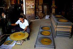 Incense factory (MelindaChan ^..^) Tags: china mel melinda joss incense coils xinhui  chanmelmel melindachan