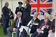 Veterans and Visiting Dignitaries