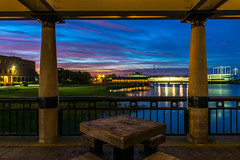 Sunset (liveonet1) Tags: sunset color waterfront charleston deck starlight