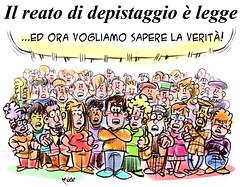 Depistaggio (Moise-Creativo Galattico) Tags: italia vignette satira attualit moise giornalismo depistaggi editoriali moiseditoriali editorialiafumetti