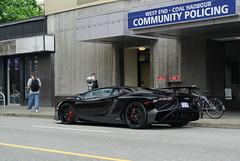 750 SV (nurspecs) Tags: lamborghini aventador lp750 sv superveloce black exotic supercar automotive photography nikon 1 j1 1j1 vancouver canada bc british columbia     lambo