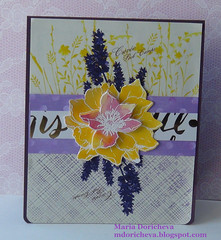 Wine label card (Zayasa) Tags: hand made card kit heroarts winelabel