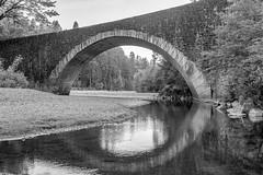 Benbow Bridge (Jill Clardy) Tags: california park county bridge stone forest 1931 river humboldt arch state historic redwood eel benbow 201606294b4a3203hdreditedit