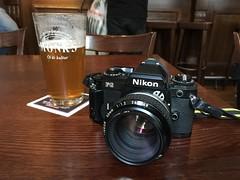 Nikon FG (Mister.Marken) Tags: table camera monks beer nikkor50mm nikonfg