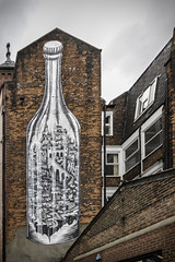 City in a bottle (tootdood) Tags: street city art manchester bottle cable canon70d