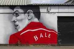 Bale: street art, Whitchurch, Cardiff (Dai Lygad) Tags: street camera uk red summer streetart man art beautiful face sport june wall shirt wales canon geotagged photography eos photo football team flickr european foto image unitedkingdom pavement kunst cymru cardiff picture together national photograph creativecommons publicart striking bale rood whitchurch uefa stronger voetbal beeld  footballer wels gallois fotograaf europese straatkunst forwebsite paysdegalles overhemd attributionlicense pasdegales freetouse 550d  welshfootball attributionlicence togetherstronger garethbale uefaeuropeanchampionship euro2016 zqi walesnationalfootballteam uefaeuro2016 wirsh 2016uefaeuropeanchampionship pmer1com gratistegebruiken walvbel