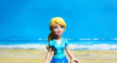 Barbie Figure By Mega Bloks 2015 : Diorama Beach - 7 Of 9 (Kelvin64) Tags: barbie figure by mega bloks 2015 diorama beach