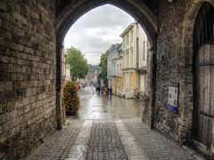 Winchester from the West Gate (neilalderney123) Tags: england history gate winchester architechure 2016neilhoward