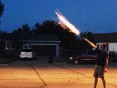 Day 186. Roman Candle. (davidmulder61) Tags: candle fireworks roman 4th july fireball expecto patronum