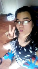 2016-07-13_06-04-50 (youngcd_2000) Tags: cute sexy beautiful glasses peace legs longhair transgender nativeamerican tranny hazeleyes transsexual ladyboy shemale blackdress blackpatterndress