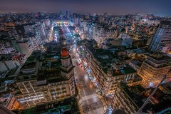 Ciudad de Buenos Aires (karinavera) Tags: travel nikond5300 buenosaires urban night drone congreso skycrapers barolo cityscape longexposure view city avenidademayo aerial argentina buildings downtown lights microcentro community architecture exclusive caba