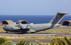 Boeing C-17A Globemaster III (urkyurky) Tags: c17 transport hungary boeing grancanaria canaryislands spain nato otan globemaster c17a transporter beach sea ocean atlantic