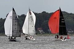 """Pyleia"" One Off - ""Beachyachtingracingteam""  Italia 9,98 - ""Bazz"" Dufour 34 perf. (winchman2010) Tags: sailing segeln regatta yachts boats kiel baltic ostsee welcomerace"