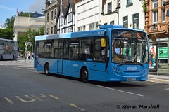 387, Upper Parliament Street, 4/8/16 (hurricanemk2c) Tags: nct nottinghamcitytransport 387 yx63lje