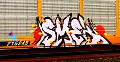 smek (timetomakethepasta) Tags: smek esc mexico freight train graffiti art autorack new york 2trainz 2 trainz