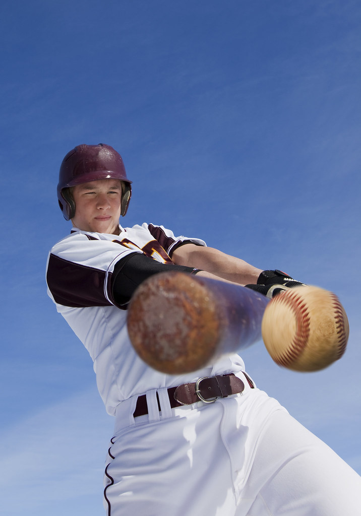 Baseball hit (rolf95) Tags: athletic background ball baseball bat ... B1 Lancer Supersonic