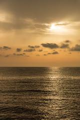 Cala Bona at Dawn (II AsH II) Tags: calabona majorca balearicislands balearics goldenhour golden seaside sun sunrise ashleytownsend nikond7100 1870mm gorillapod dawn morning mediterranean mediterraneansea sea clouds