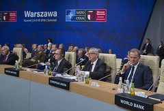 President Tusk on the NATO Summit in Warsaw, 08 July 2016 (europeancouncilpresident) Tags: nato eu europeanunion european council president donald tusk jeanclaude juncker jens stoltenberg