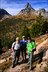 Cathedral Peak (@GilAegerter / klahini.com) Tags: nikon nikkor mountains climbing scrambling backpacking 2550mmf4ais cathedralpeak manualfocus manuallens