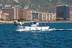 Fishing Boat, Fuengirola, Andalusia, Spain (rmk2112rmk) Tags: fishingboat fuengirola andalusia spain boat mediterranean alborean sea yaramar coast