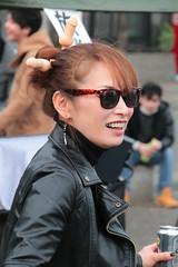 Partygirl (Toni Kaarttinen) Tags: japan  japonia    jap japonsko jaapan  japani japon xapn    japn jepang an tseapin giappone  japna japonija  japo  japonska japn hapon  japonya nht bn japanese kawasaki spring woman beer penis