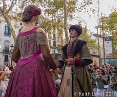 There be Giants (keithhull) Tags: lamerce barcelona parade giants gigantes catalunya catalonia festival spain