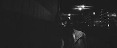 on funks (Shuji Moriwaki) Tags: widelux panorama cinemascope 2391 analog film dark street night lights full dof scale focus caffenol sasebo nagasaki japan swing lens friends cinematic 35mm