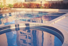 (hnnhcrvlh) Tags: brazil film pool brasil 35mm piscina filme prdio paraiba predio paraba campinagrande yashicamf3