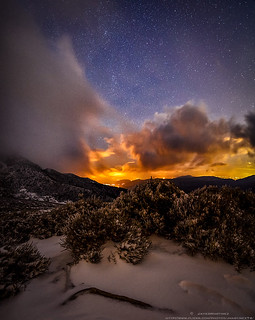 Entre nube y nube. Primeras nieves en Peñalara.
