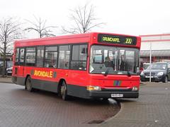 Avondale - V655 HEC (Strathclyder) Tags: 2 west bus scotland pointer united lancashire blackburn single dennis avondale dart decker hec clydebank slf dunbartonshire plaxton trandev v655hec v655