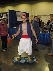 Aladdin (FranMoff) Tags: carpet costume cosplay skateboard aladdin 2014 costumer rhodeislandcomiccon ricomiccon