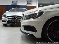Mercedes SLK 55 AMG & A 45 AMG (Joo Paulo Fotografias) Tags: mercedes 45 55 amg slk a