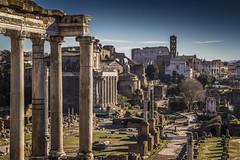 La citt eterna (ponzoosa) Tags: roma ana holidays italia roman foro romano coliseo audrey vacaciones templo capodanno youknoweverything