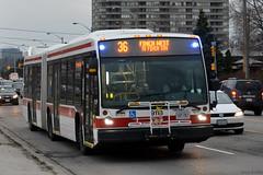 TTC NovaBus LFS Artic #9118 (SteveC123!) Tags: bus public nova ttc transit articulated bendy articulatedbus novabus lfsa lfsartic