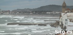 """Sitges Bay Storm • <a style=""""font-size:0.8em;"""" href=""""http://www.flickr.com/photos/90259526@N06/15709598432/"""" target=""""_blank"""">View on Flickr</a>"""